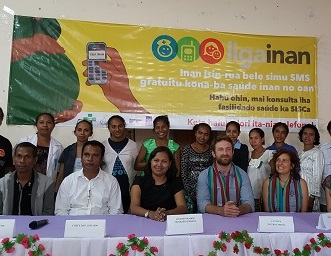 Liga Inan launches in Municipality Ermera  Bringing pregnant women and health professionals together