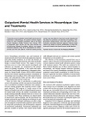HAI Publication Alert: Outpatient Mental Health in Mozambique