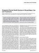 HAI Publication Alert: Outpatient Mental Health in Mozambique