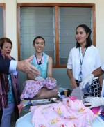 Demonstration of Newborn Resuscitation for the Governor-General of the Commonwealth of Australia in Dili, Timor-Leste